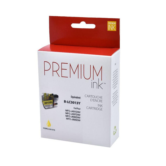 Brother LC3013XL Pigment Yellow Compatible Premium Ink - Perth PC