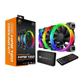 Cougar CF-V12SET-RGB Hydraulic Vortex Rgb 120mm Cooling Kit With Tri-directional Lighting And Remote Control (3 Pack) - Perth PC