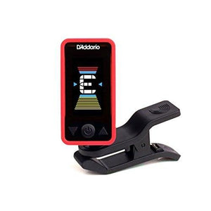 D'addario Ct-17 Eclipse Clip On Chromatic Guitar Tuner - Red - Perth PC