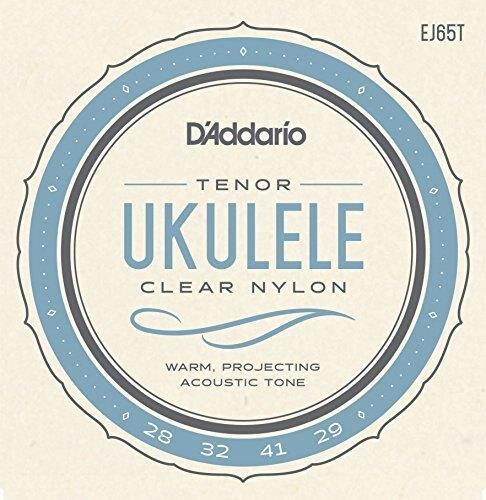 D'Addario EJ65T Pro-Arte Custom Extruded Tenor Nylon Ukulele Strings - Perth PC
