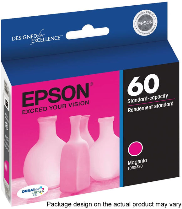 Epson 60 Magenta Ink Cartridge (T060320) - Perth PC
