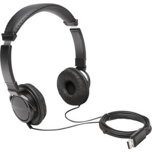 Kensington, KMW97600, USB Hi-Fi Headphones, 1, Black - Perth PC