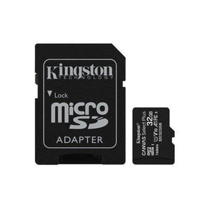 Kingston 32GB microSDHC Canvas Select Plus Class 10 Flash Memory Card SDCS2 Memory - Perth PC