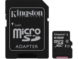 Kingston microSDHC Canvas Select Plus - 64GB - Perth PC