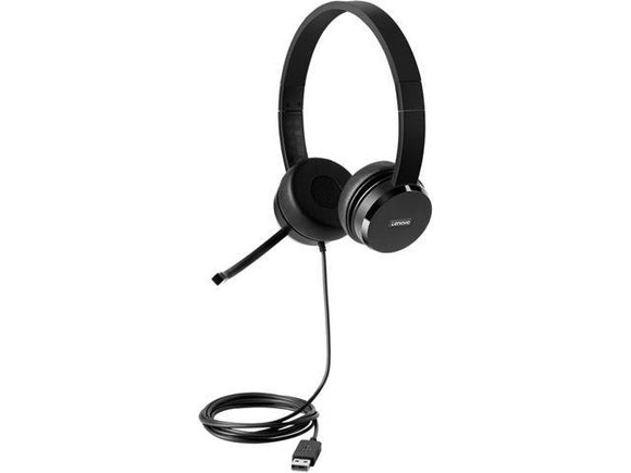 Lenovo - Stereo Usb Headset (on-ear) - Perth PC