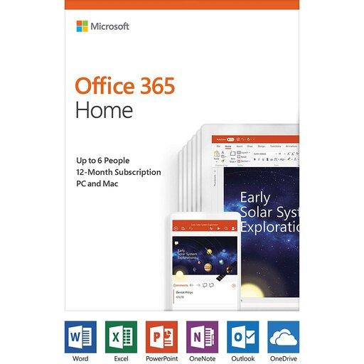 Microsoft Office 365 Home 12-month subscription, up to 6 people, PC/Mac Key Card - Perth PC