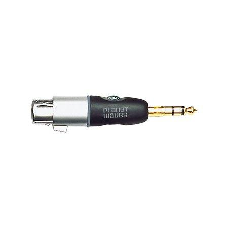 Planet Waves 1/4 Inch Male Balanced to XLR Female Adapter - Perth PC