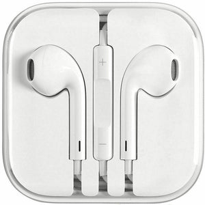 Apple OEM earbuds with mic & remote 3.5mm