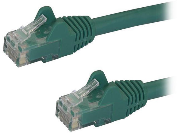 StarTech 2ft Cat6 UTP Snagless Ethernet Patch Cable - Green - Perth PC