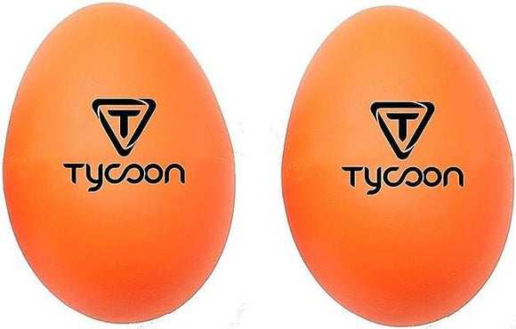 Tycoon PERCUSSION SHAKERS EGGS Orange
