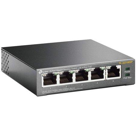 TP-Link 5-Port Gigabit Desktop PoE Switch with 4-Port TL-SG1005P - Perth PC