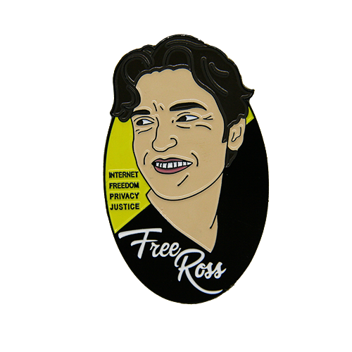 Free Ross Enamel Pin - Human Action llc