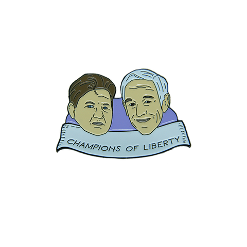Free Ross Enamel Pin