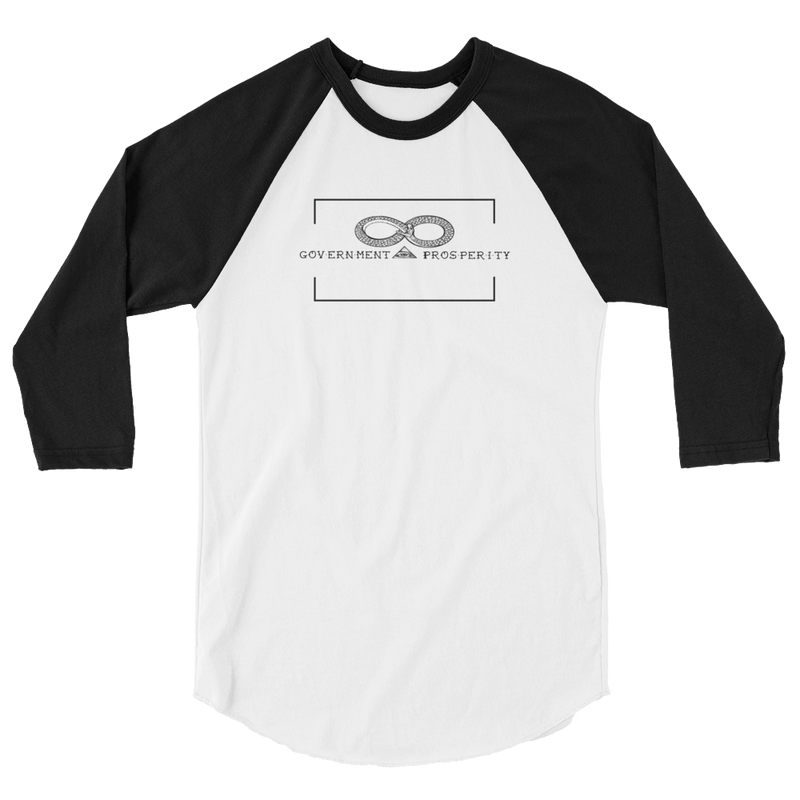 Government Prosperity 3/4 sleeve raglan shirt