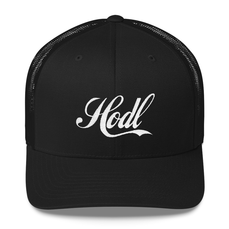 Hodl Trucker Cap - Human Action llc