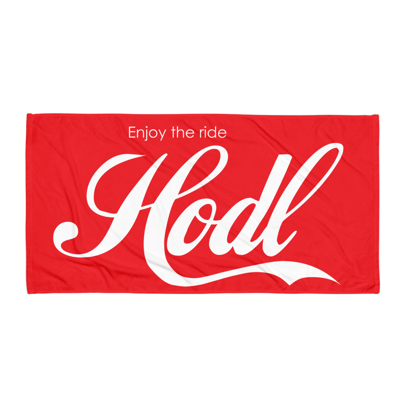Hodl Beach Towel - Human Action llc