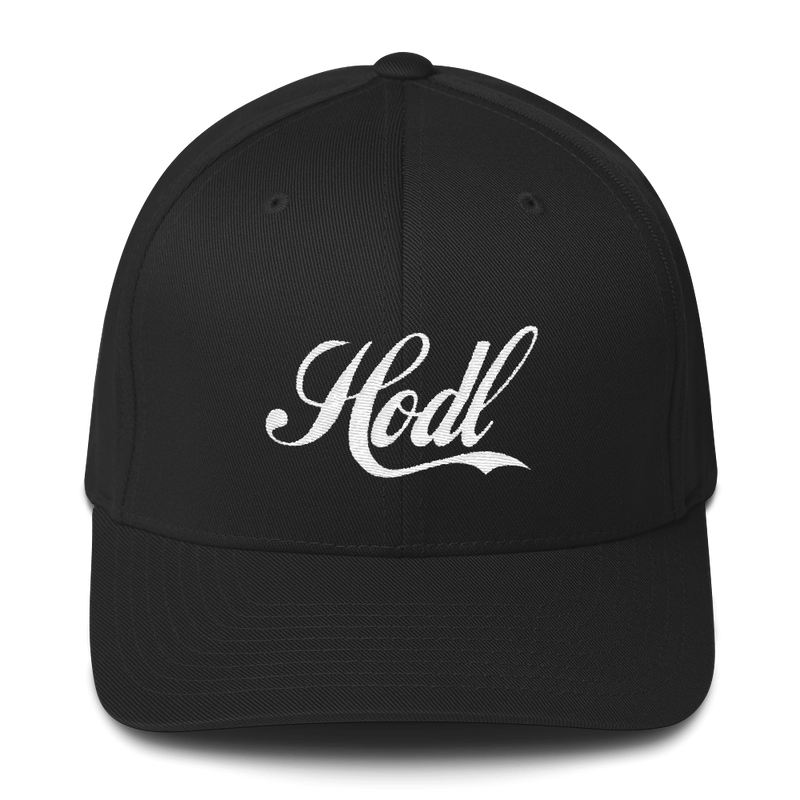 Hodl Structured Twill Cap