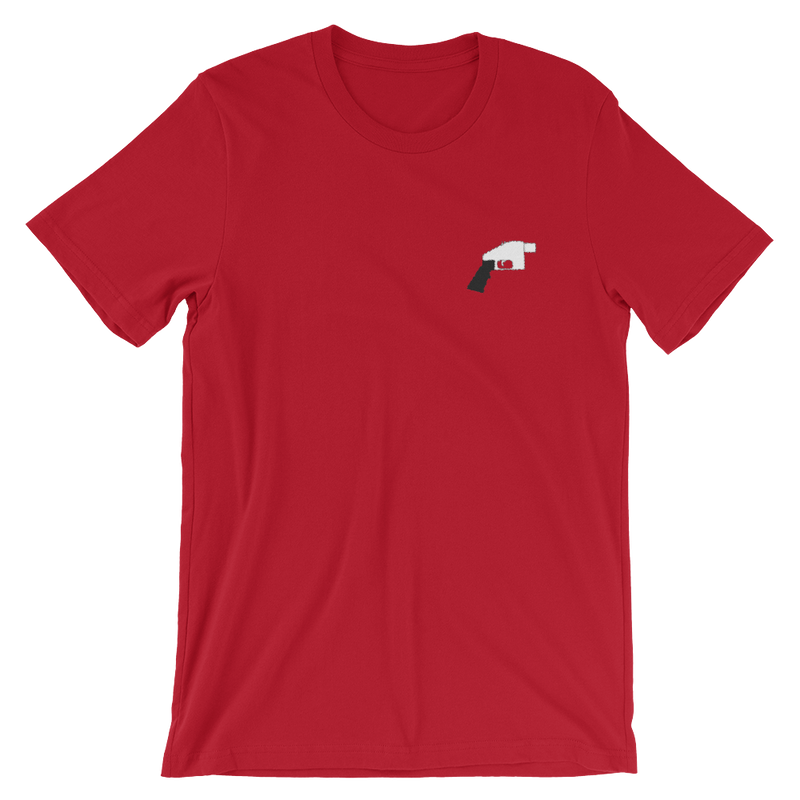 Embroidered Liberator Short-Sleeve Unisex T-Shirt - Human Action llc