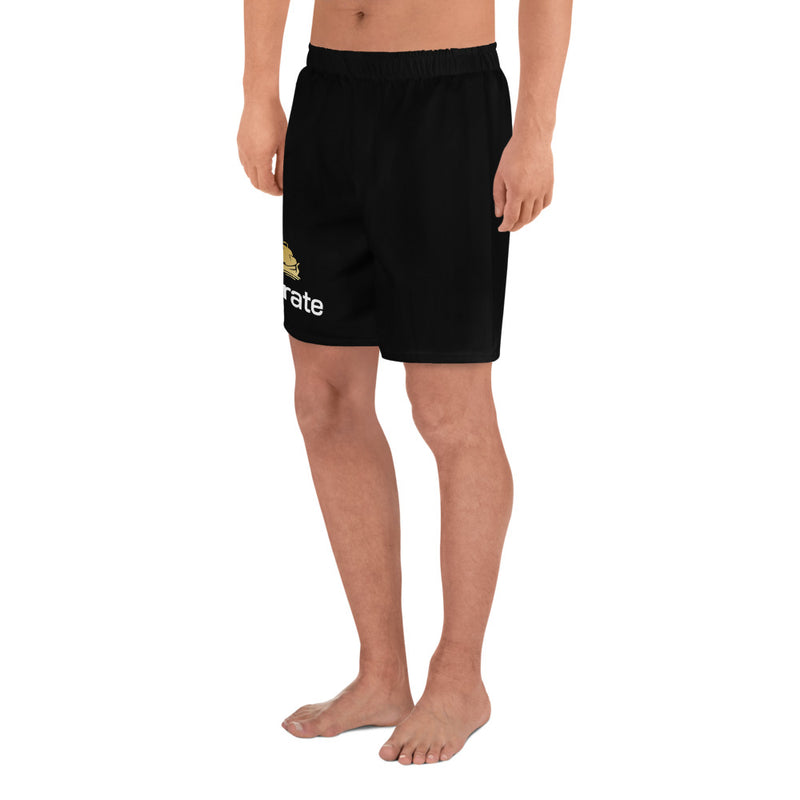 Pirate Chain Men's Athletic Long Shorts - Human Action llc