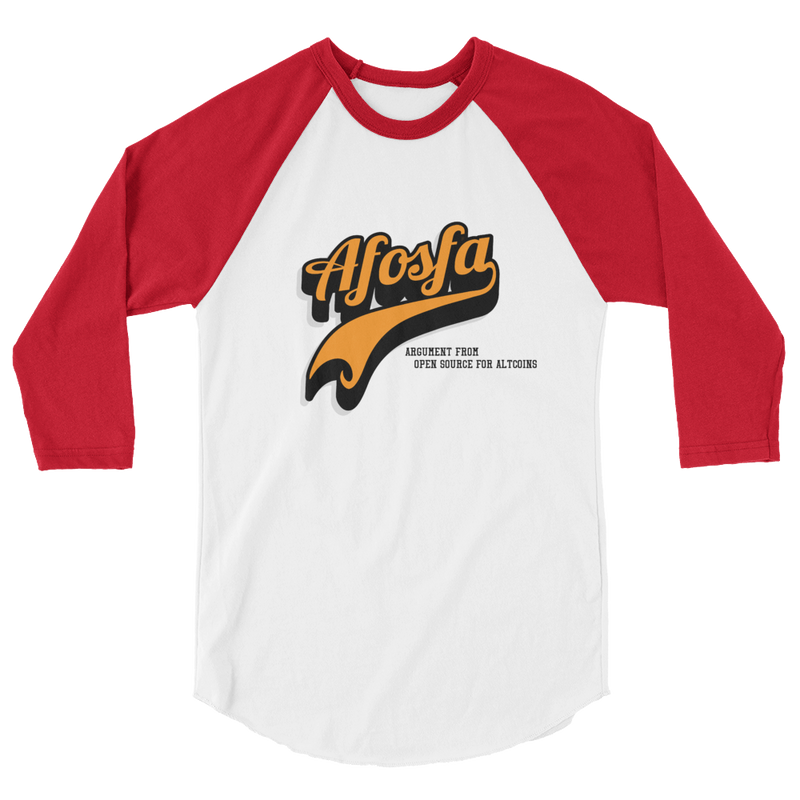 Afosfa 3/4 sleeve raglan shirt - Human Action llc
