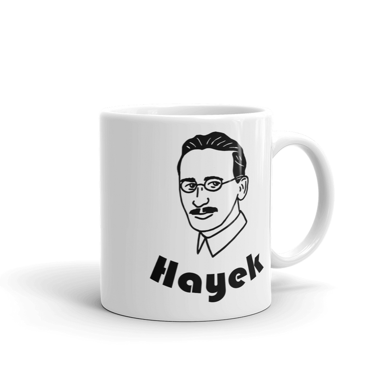 Hayek Mug - Human Action llc