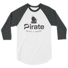 ARRR 3/4 sleeve raglan shirt - Human Action llc