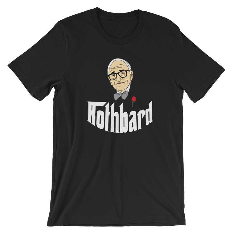 Rothbard Short-Sleeve Unisex T-Shirt - Human Action llc