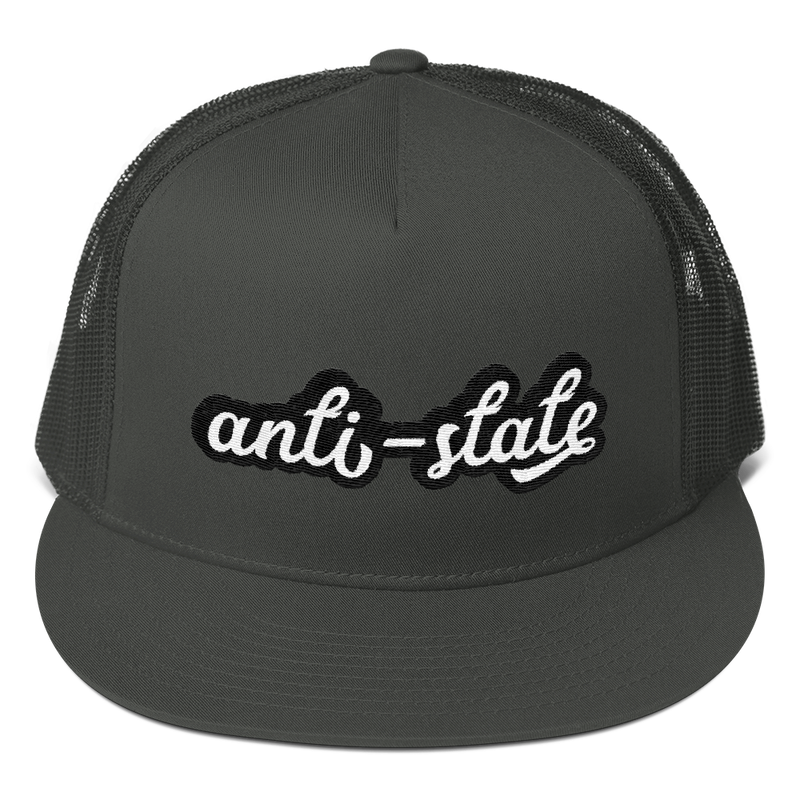 Anti-State Trucker Cap