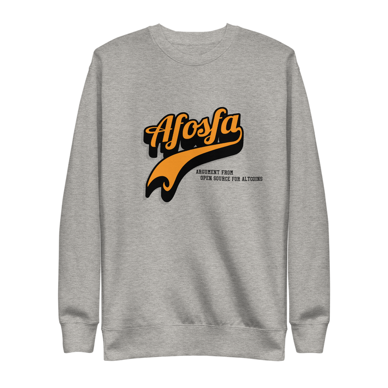 Afosfa Unisex Fleece Pullover - Human Action llc