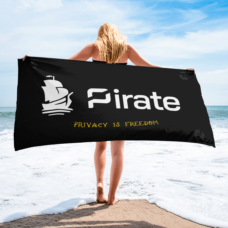 Pirate Chain beach Towel - Human Action llc