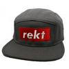 Rekt Five Panel Cap - Human Action llc