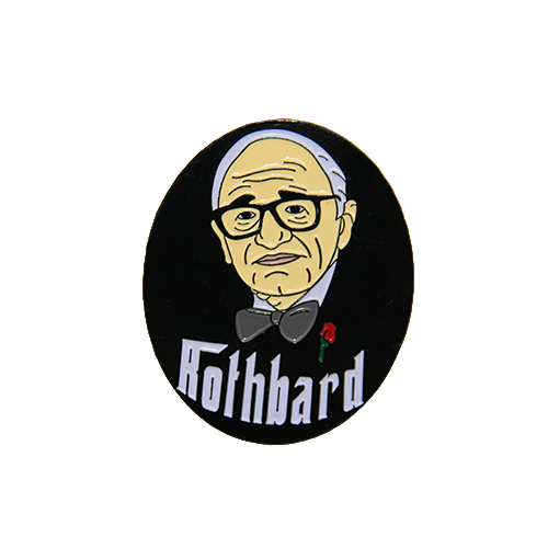 Murray Rothbard enamel pin - Human Action llc
