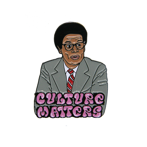 Thomas Sowell enamel pin