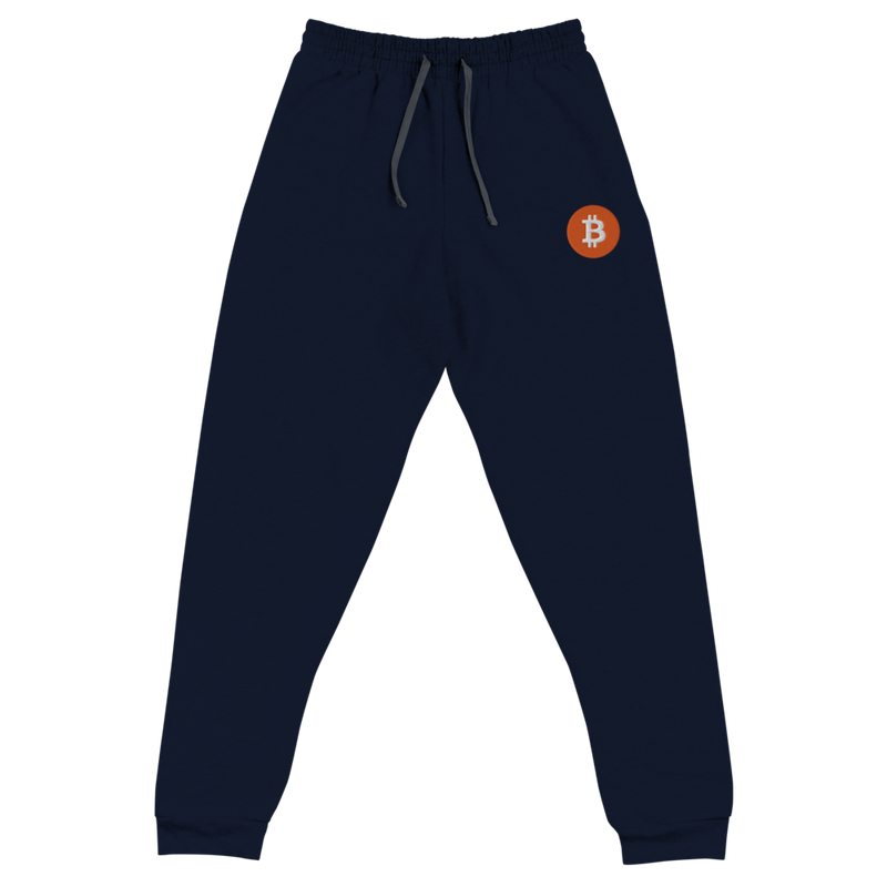Embroidered Bitcoin Unisex Joggers
