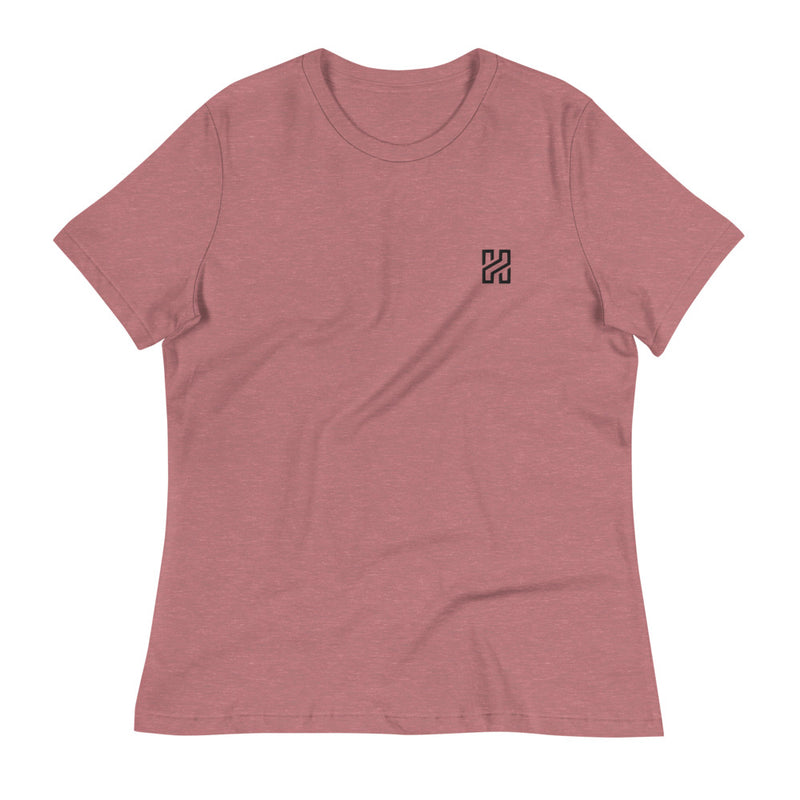 Embroidered Haven Women's Relaxed T-Shirt