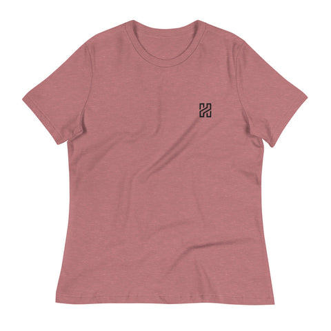 Embroidered anti-state Women's short sleeve t-shirt