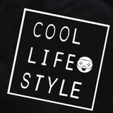Cool Life Style Black Long Sleeve Tee & Camo Pants - 2 Piece - Dee Republic