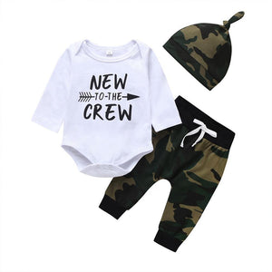 New to The Crew Camo Outfit - 3 Piece - Dee Republic