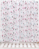 Pink Trees & Bunnies Soft 100% Organic Muslin Cotton Swaddle Blanket - Dee Republic
