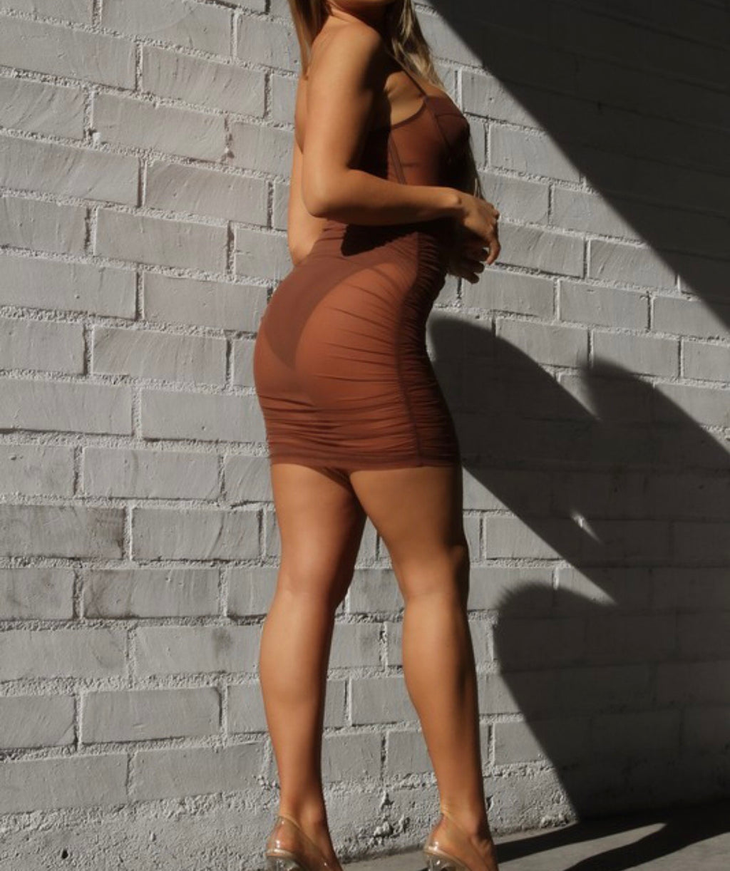 Catalina Dress (Brown)