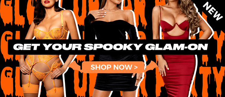 Get your spooky glam on