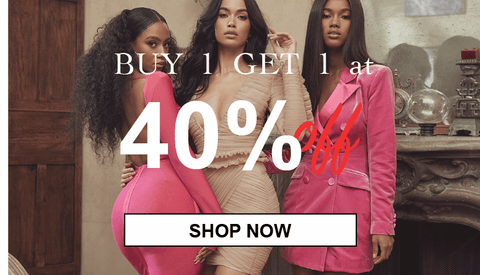 Buy 1 Get 1 at 40% OFF for Women Fashion