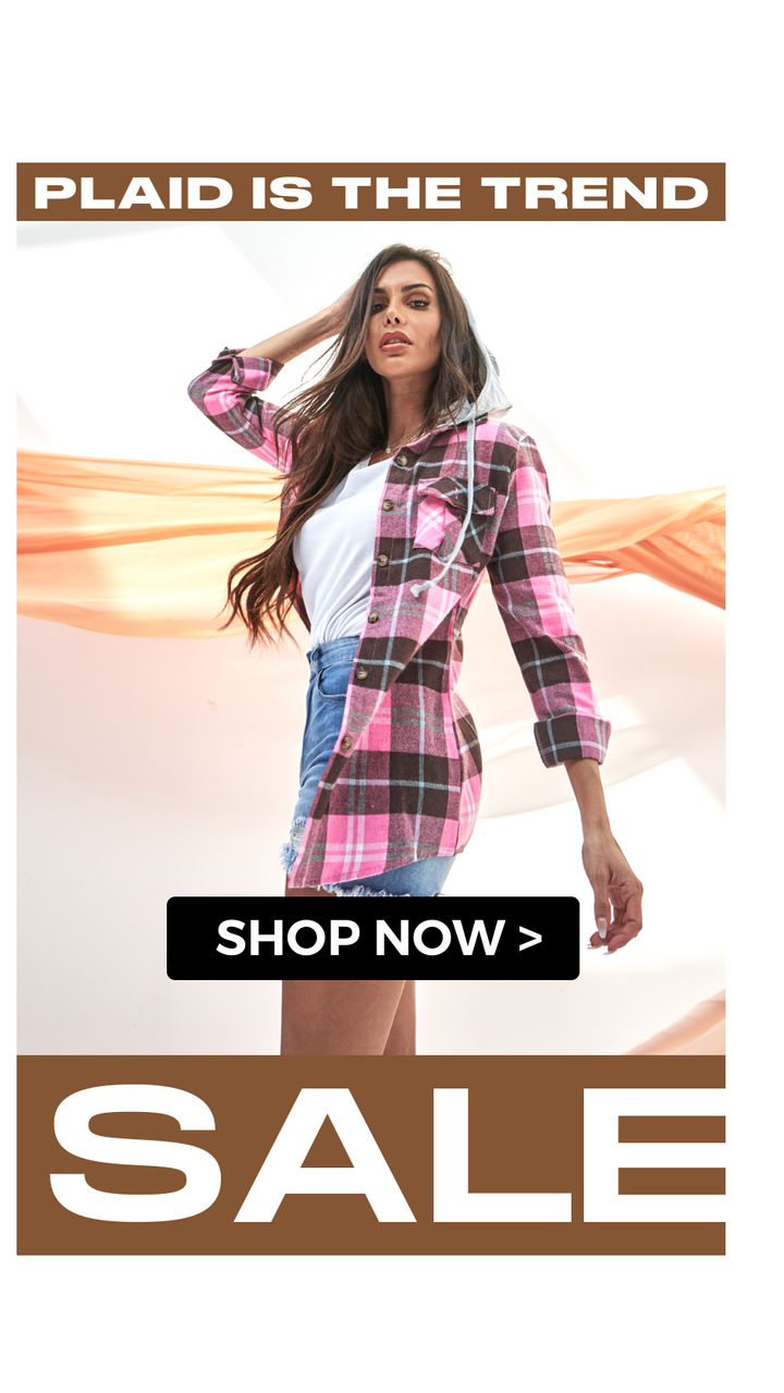 Plaid is the trend