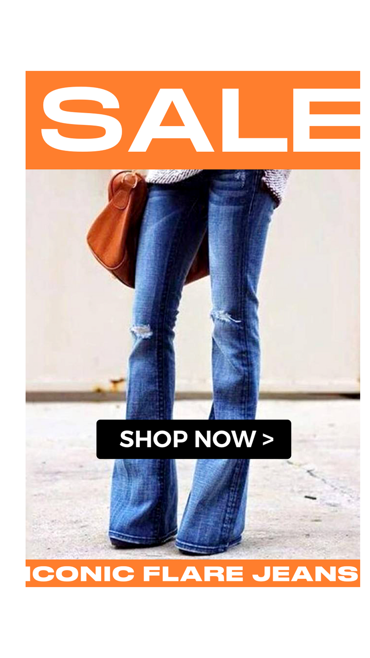 Iconic Flare Jeans