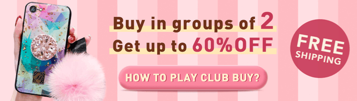 Buyers Club - buy in groups of 2 Get Up to 60% OFF
