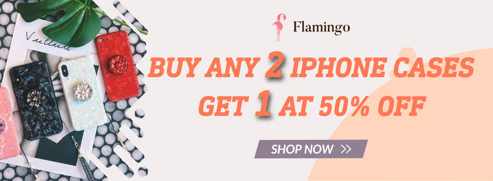 Phone Case Sale: Buy 2 Get 1 At 50% Off