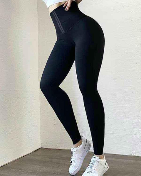 Body Shaping Waist Cincher Sports Leggings gallery 15
