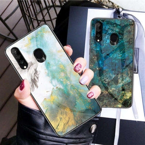 Luxury Marble Pattern Phone Case for Samsung