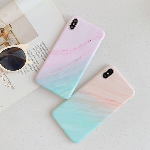 Gradient Shockproof Marble Phone Case for Samsung with Phone Holder gallery 3