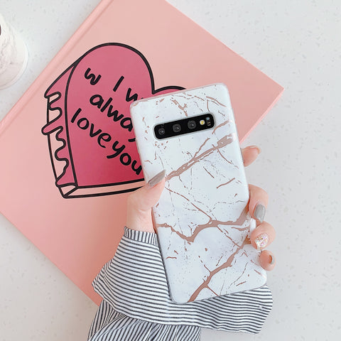 Matte Sand Marble Phone Case for Samsung gallery 3
